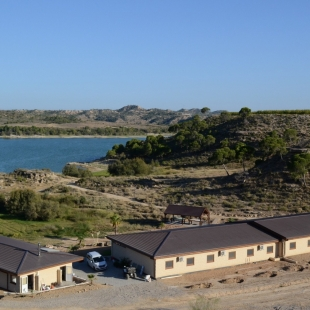 Fotogalerie Camp Ebro How the camp looks like